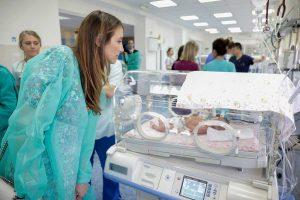 Princess Katherine Foundation and Bojana Janković Weatherly donation to Belgrade Mother and Child Institute