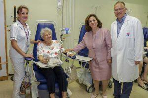 Принцеза Катарина на свечаном уручењу донације Институту за онкологију у Новом Саду