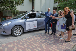 Delivery of TOYOTA vehicle to Cacak General Hospital
