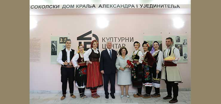 Nj.K.V. sa članovima kulturno umetničkog društva