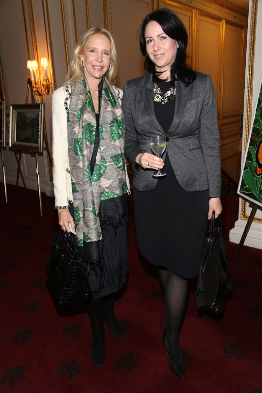 Mrs. Maryann Hegel and HE Mrs. Olgica Vlacic, Consul at the Consulate of the General Republic of Serbia in New York
