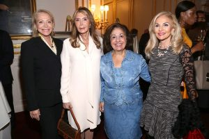 Mrs. Suzan Kremer, Mrs. Cheri Kaufman, HRH Crown Princess Katherine and Mrs. Pamela Wright