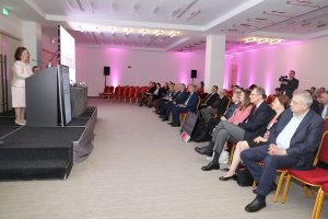 HRH Crown Princess Katherine opening the 56th Cancer Conference Week